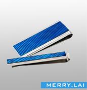 粘胶抹油不锈钢领带夹,商务专用领带夹