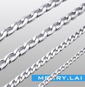 不锈钢项链吊坠链 钛钢项链链条