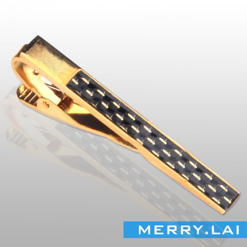 优雅配饰领夹 电镀抛光不锈钢领带夹