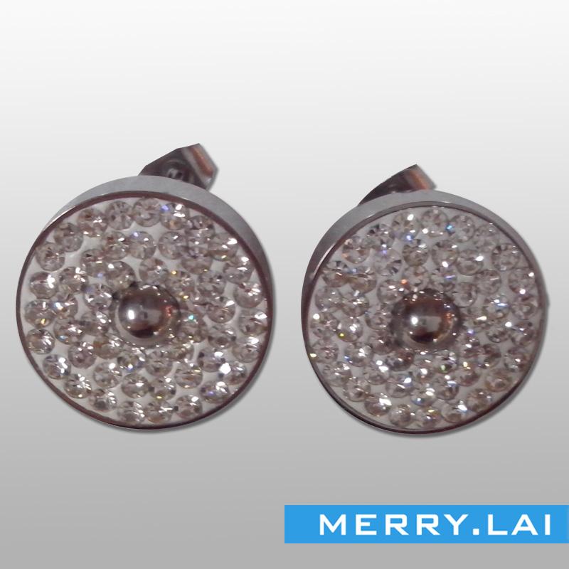 满天星耳环,不锈钢耳环,不锈钢饰品订制