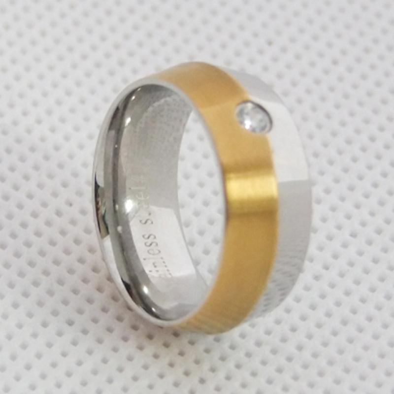 316L进口不锈钢戒指,简约时尚戒指,戒指订制厂家