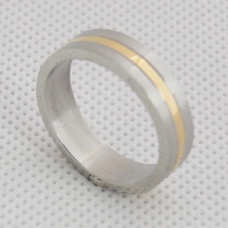韩版戒指定制 简约不锈钢戒指 戒指定制厂家